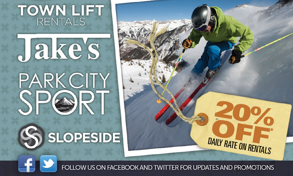 Slopeside 20% Off Coupon