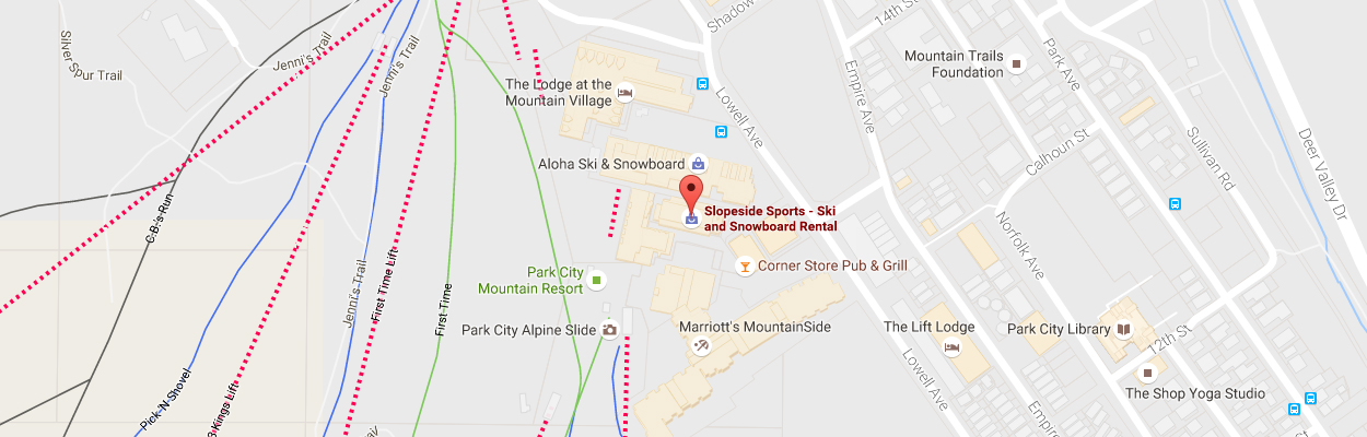 Slopeside Sports Locations