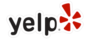 Yelp Logo for reviews